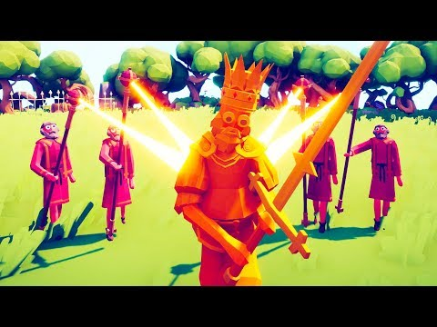Creating The Super King in Totally Accurate Battle Simulator (TABS)