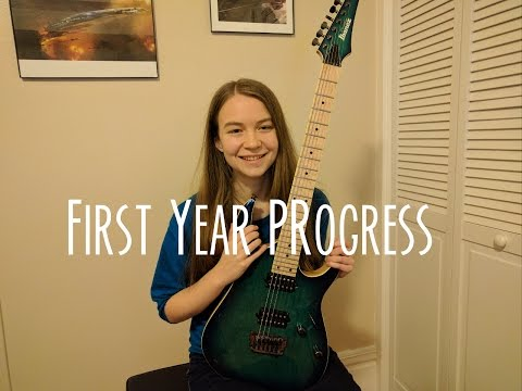 First Year The Electric Guitar