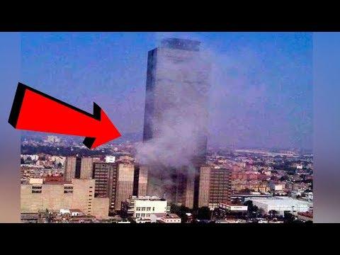 Momento Exacto Sismo 7.1 DF CATASTRÓFICO! Terremoto 19 sep 2017