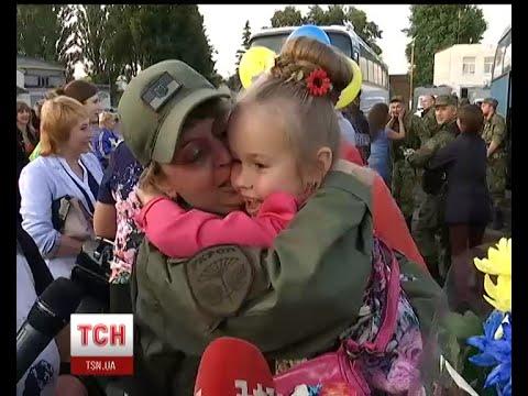Сто бійців зведеного загону правоохоронців Сумщини повернулися із зони АТО на ротацію