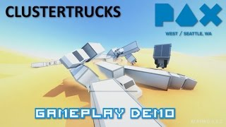 MMOHuts - Clustertruck Demo - PAX West 2016
