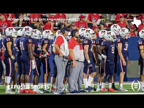 McKinney Boyd High School vs Garland Naaman Forest High School Highlights | 2019 Texas Football
