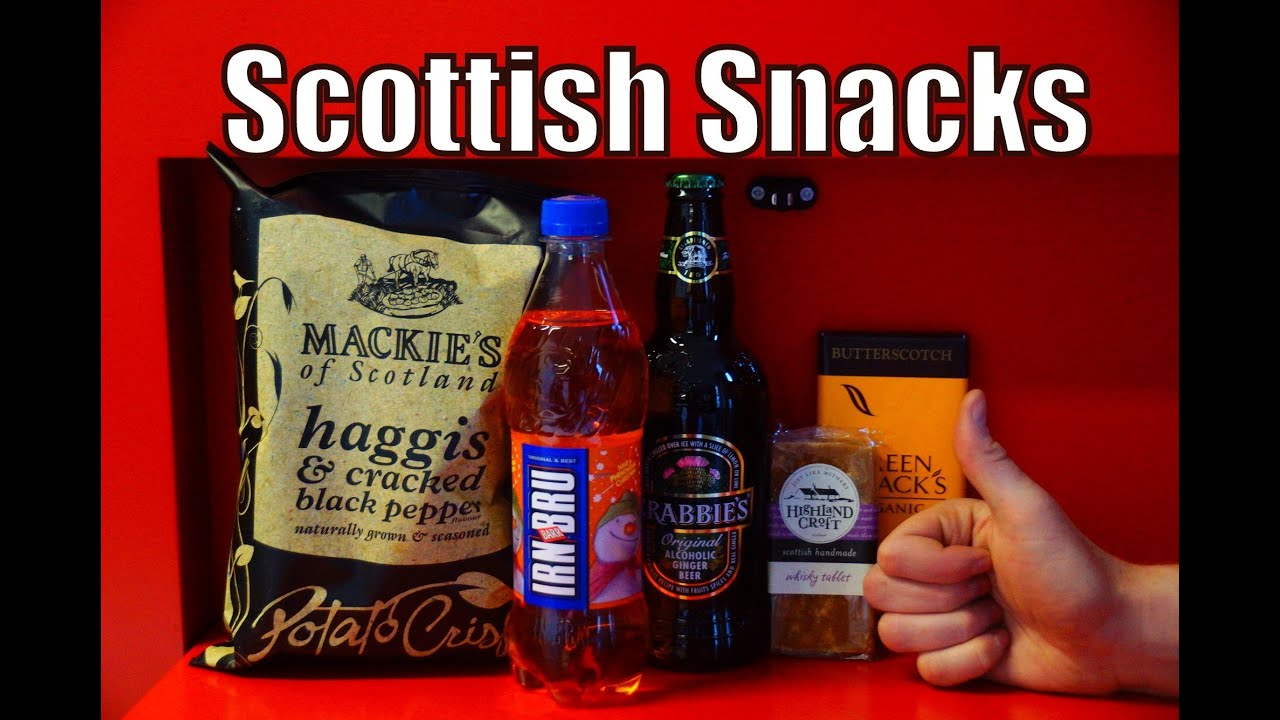 scottish snacks drinks scotland junk taste eating drinking challenge edinburgh