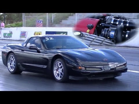 Supercharged Corvette C5 5.7L 1/4 Mile