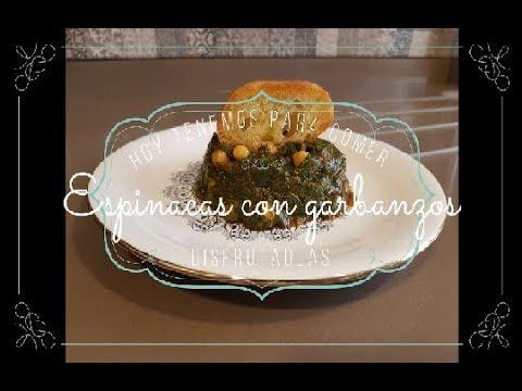 receta garbanzos con espinacas estilo sevillano