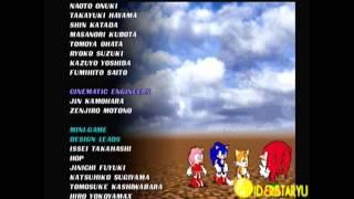Sonic Shuffle - Credits