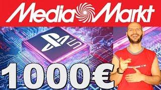 ¡YA PUEDES RESERVAR LA PS5 POR 1000 EUROS EN MEDIAMARKT! - Sasel - sony