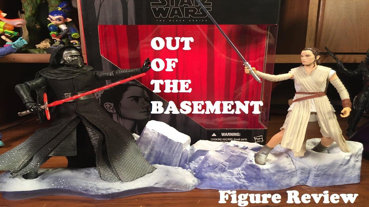 "Rey 6/"" Hasbro Star Wars Black Series Figure Starkiller base LOOSE Kmart"
