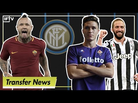 How inter could look next season - nainggolan, chiesa...higuain?! | serie a transfer news