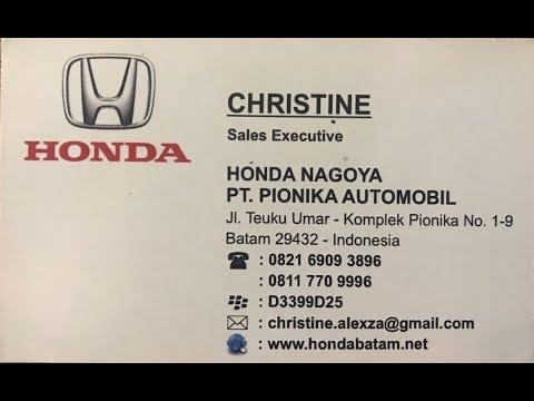 Honda Batam (Christine call / wa : 082169093896)