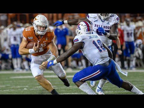 Texas Vs. Louisiana Tech Football Highlights