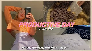 a productive day in my life (study,healthy,insta)