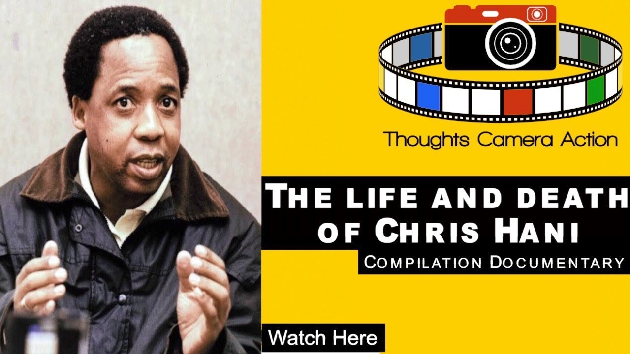 THE ASSASSINATION OF SOUTH AFRICAN LEADER CHRIS HANI  #LESTWEFORGET