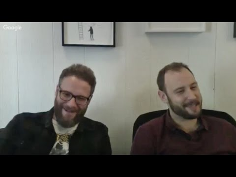 Seth Rogen and Evan Goldberg chat about making 'Sausage Party' and talk Oscar hopes