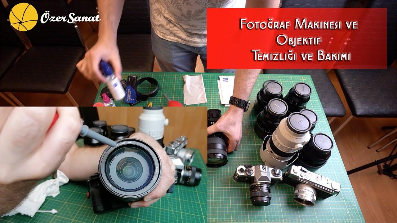 Fotoğraf Makinesi ve Objektif Bakımı / Temizliği