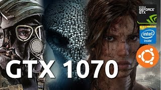 GTX 1070 Gaming on Ubuntu : 10 games in 10 minutes Dying Light, F1 2015, XCOM 2 more