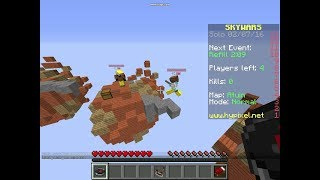 What The A Fly Hacker | Minecraft Skywars
