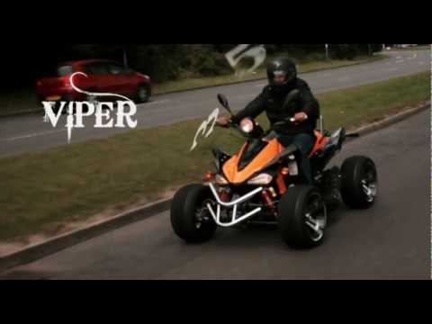 Road legal quad bikes VIPER