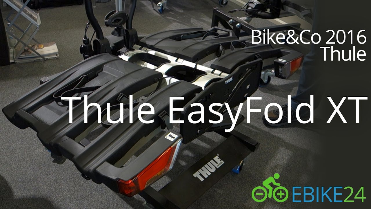 thule easyfold xt 934 2017 fahrradtr ger f r anh ngerkupplung youtube. Black Bedroom Furniture Sets. Home Design Ideas