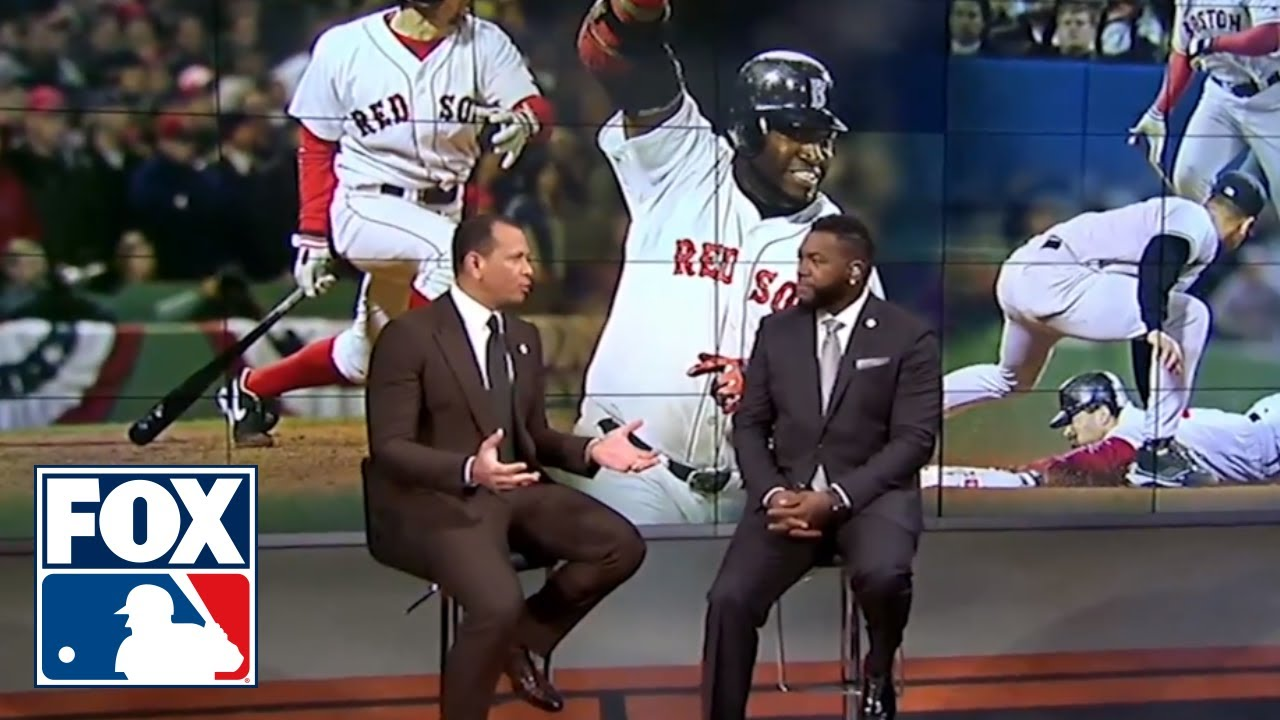 Alex Rodriguez and David Ortiz relive the 2004 ALCS  MLB