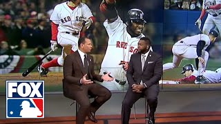 Alex Rodriguez and David Ortiz relive the 2004 ALCS | FOX MLB