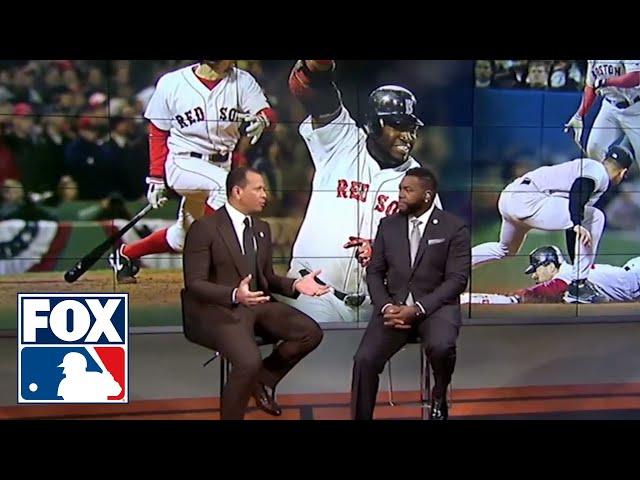 Alex Rodriguez and David Ortiz relive the 2004 ALCS | FOX MLB