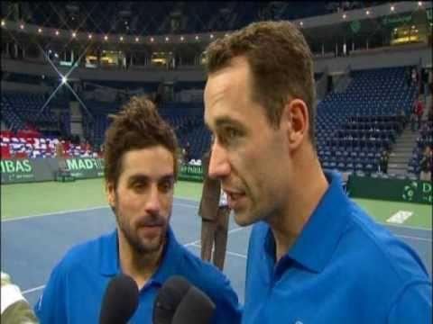 Davis Cup Interview: Michael Llodra and Arnaud Clement