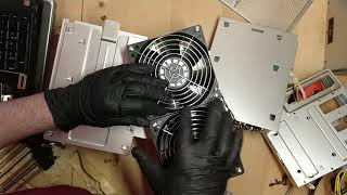 Unboxing Antminer T15 and Disassembly