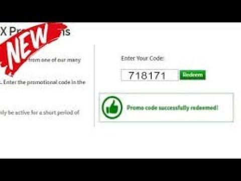 Секретный промокод в ROBLOX - YouTube