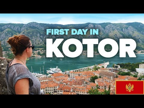 First day in KOTOR, Montenegro