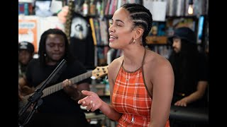Jorja Smith NPR Music Tiny Desk Concert