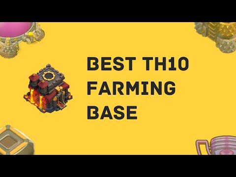 TOP 3 BEST TH10 FARMING BASE 2019 *COPY LINK* | COC TH10 Farming/Trophy Base | Clash Of Clans #5