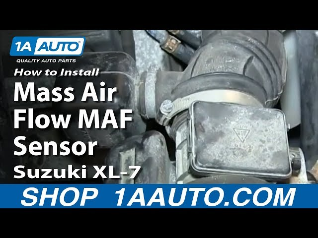 How To Replace MAF Sensor 98-06 Suzuki XL-7
