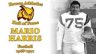 2018 Rowan Hall of Fame - Mario Harris