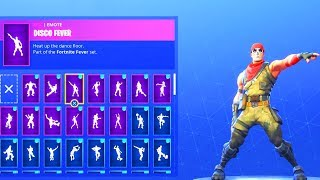 DANCE EMOTES V2 (HIGH PITCH) with *NEW* WARPAINT SKIN! Fortnite Battle Royale