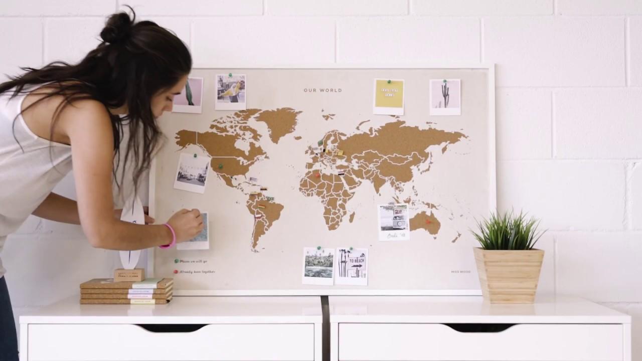 Cartina Mondo In Sughero.Special Edition Mappa Del Mondo Di Sughero Edizione Special Youtube