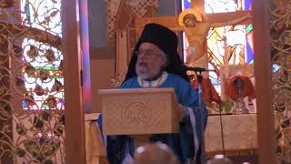 September 24, 2017 - The 1st Disciples - Luke 5:1-11 and Sermon by Bishop Panteleimon of Theoupolis