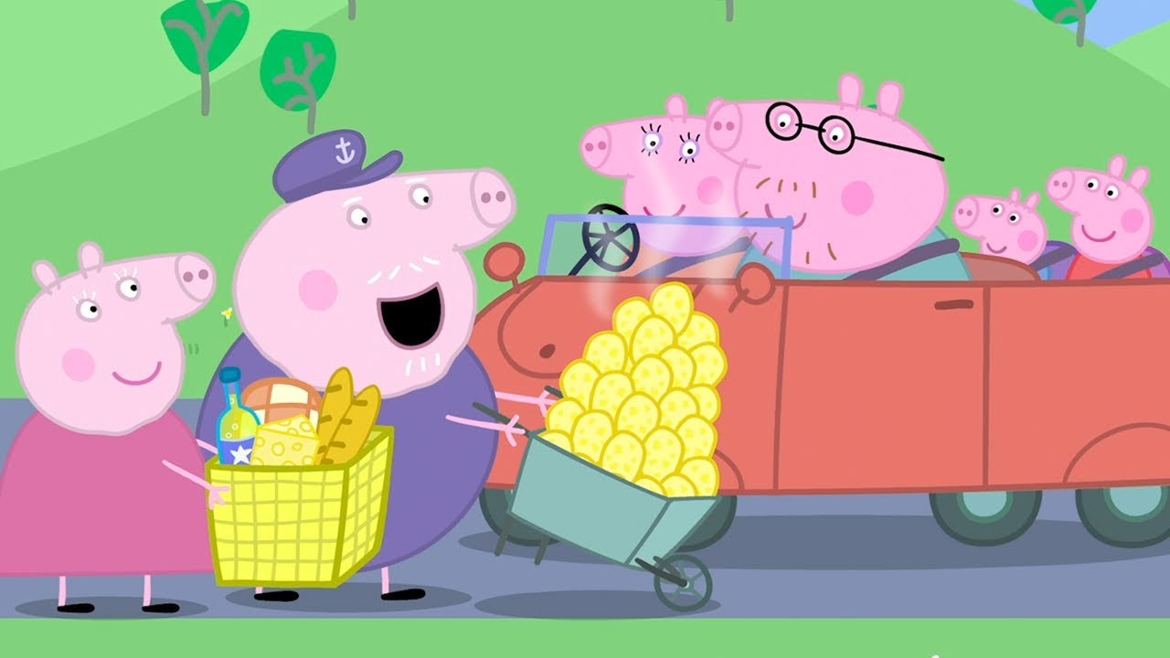 Download Peppa Pig Full Episodes |Stuck in Traffic with Peppa #91