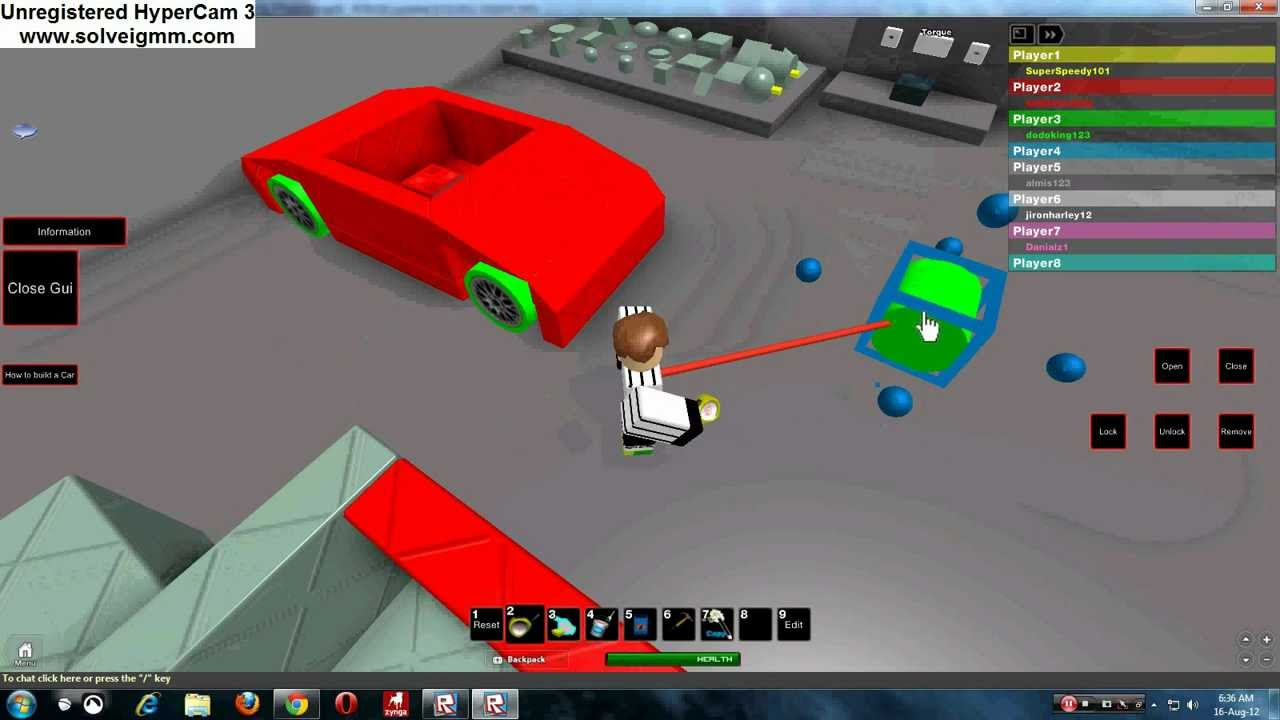 Build And Race How To Make A Simple Car But Fast Roblox Youtube