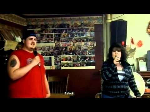 Gregory White & Melinda Cricks Singing Portland Oregon at Karaoke