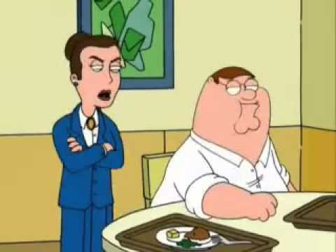 Family Guy Peter in Rehab-Clinic