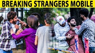 Breaking Strangers Mobile Phones With Twist (GONE WRONG) - Lahori PrankStar