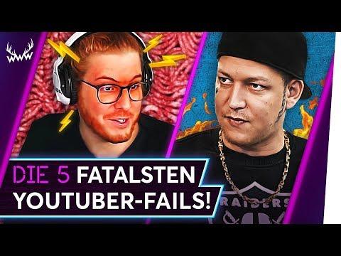 Die 5 FATALSTEN YouTuber-FAILS! | TOP 5