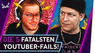 Die 5 FATALSTEN YouTuber-FAILS! | TOP 5