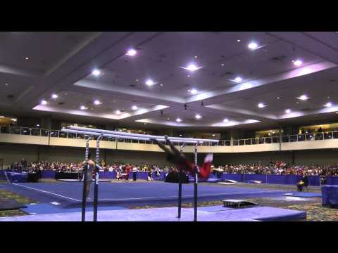 Marvin Kimble Parallel Bars 2014 Winter Cup Challenge ...