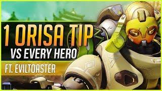 1 ORISA TIP for EVERY HERO ft. EvilToaster