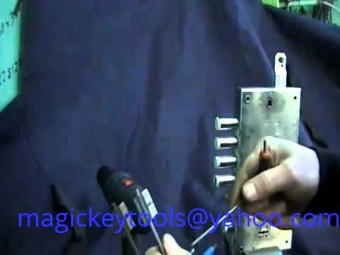 Самоимпрессия MOTTURA   Magic key Nr 1 Вскрытие замка Mottura 6+6 методом самоимпрессии.