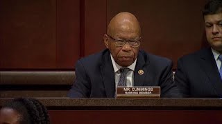 "Rep. Elijah Cummings blasts ""zero tolerance"" immigration policy"