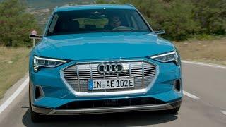 Audi e-tron 55 Quattro   Driving (0:00), Exterior (10:18), Interior (13:06), Charging (16:21)