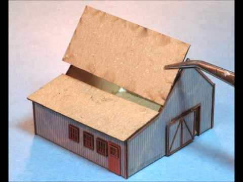 Building A Laser-Cut Wood Barn Kit